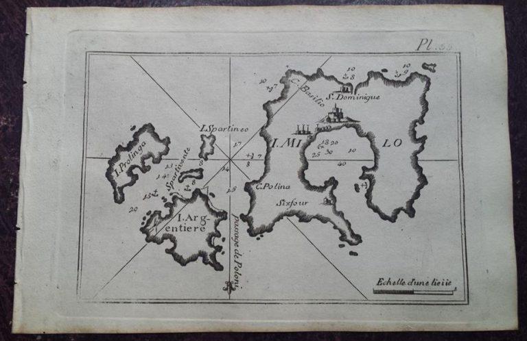 Παλιός ναυτικός χάρτης